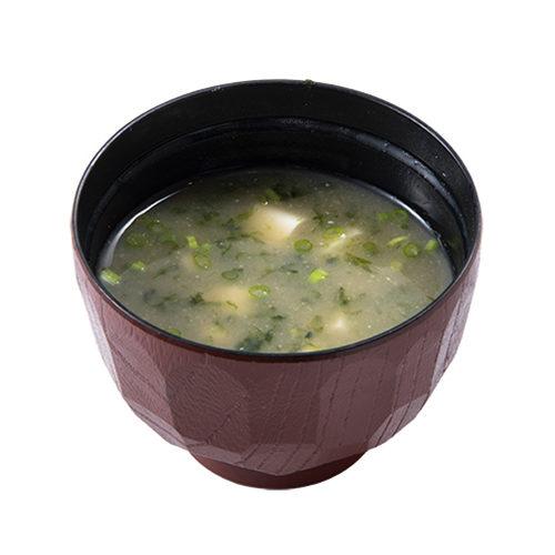 岩のりとお豆腐の味噌汁